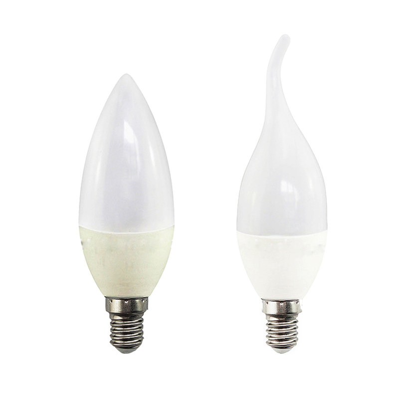 6 x E14 5W DIMMABLE LED SMD Bulbs Golden Chandelier Candelabra Candle Light Bulb